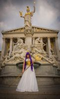 Athena Saint Seiya - dress version by ShinjusWorkshop