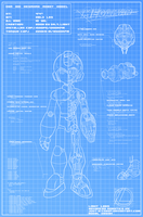 Megaman - Blueprint by Felolira