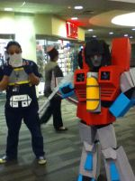 Ohayocon 2012: Soundwave and Starscream by BigAl2k6