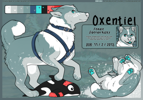 OC: Oxentiel! by c-Chimera
