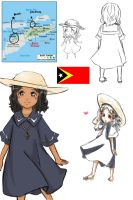 APH: East Timor or Timor Leste by bente36