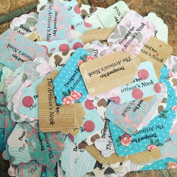 Homemade Tags by TheArtisansNook