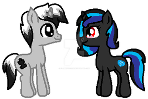 Spectrum Solution and Topaz by FlameFyre1235