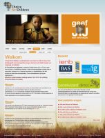 Choice for Children webconcept by Moombax