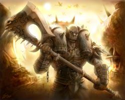 Garrosh Hellscream by TamplierPainter