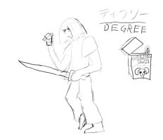 Rough Sketch - Degree by Azurada