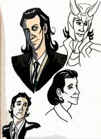 Toon Loki sketches by MWaters