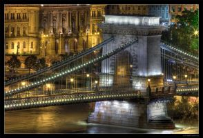 Budapest At Night 03 by miki3d