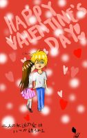 Happy Valentine's Day 2! by KuroAkuOokami