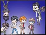Crossover: Fairy Tail - Death Note by Akiyata