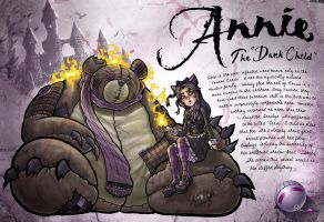 "Annie: The ""Dark Child"" by darkeblue"