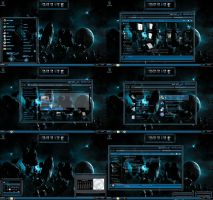 windows 7 theme sci fi (2) dark blue glass by tono3022