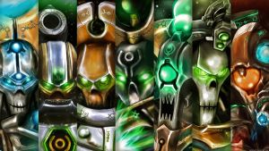 Necron characters by KaneNash