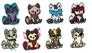 Left over chibi adopts -CLOSED- offer by MiniTheFox