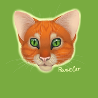 Realistic Cat 2 by therougecat