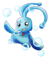 Day 2: Manaphy by Crazy-Luna
