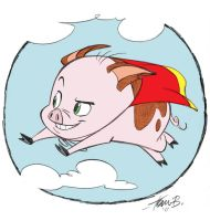 When Pigs.... by tombancroft