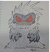 Critters Sketch card commish by 5chmee