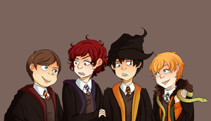 Come on down to Hogwarts by CamillaClementine