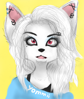 :: Arctic fox :: by Yommii