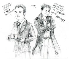 Ianto and Jack Cheer up by rum-inspector