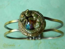 Bracelet Keeper of the Heart of the Moon Forest by Tantalia
