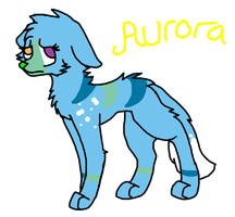 Aurora -New character- by paragonthapuppy