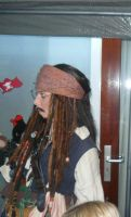 Jack Sparrow at a Pirate party by CaptJackSparrow123