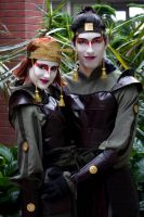 Sokka and Suki Cosplays Katsucon 2012 by spazzer-bot