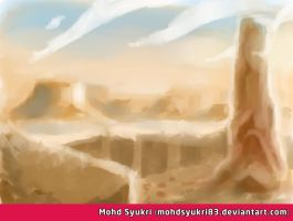 Speed painting landscape by mohdsyukri83