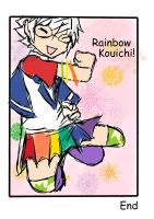 Rainbow Kouichi pg 2 by BlooCheez