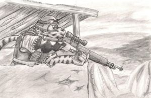 ContestPrce: Reptillian sniper by SteinWill