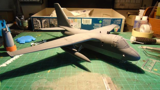 1/48 Scale S-3GC Viking Progress (getting there) by Coffeebean2