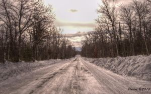 Snow Road by Paxim