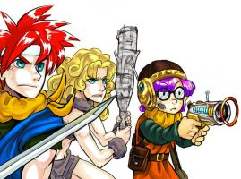 ChronoTrigger-BattleReady by elazuls-core