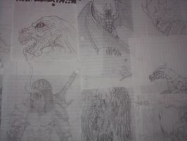 Angry drawings by Azjo