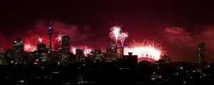Midnight Fireworks - IMG_3671 by leafinsectman