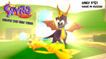 Spyro the Dragon: Relive the new year by ZOomERart