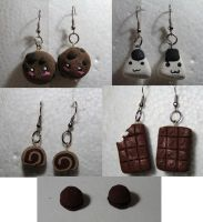 Earrings by Swim2theSun