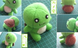 Turtle Love Doll Plushie v2.0 by Mechashinobi-X