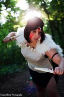 I'm ready to fight! - Mononoke Hime by Beldanndy
