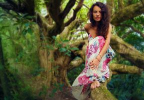 A Tree Girl by Lucie-Lilly