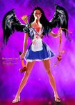 Bloody heart Cupid by MorganaVasconcelos