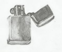lighter sketch by owais-ali