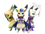 Three Princes by Poketix