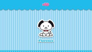 Hello Doggy Friends Florence by PwrdesignStudio