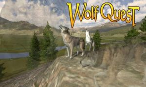 Wolfquest wallpaper by XXspiritwolf2000XX