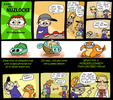 Nuzlocke Run 6 by JHALLpokemon