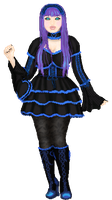 Plum Gothic Lolita by Queenofhrts87