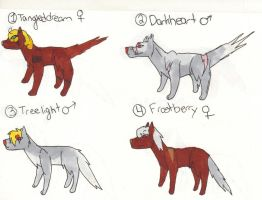Wolf Pack adopts#5(open) REDUCED by XTwilight-SerenityX